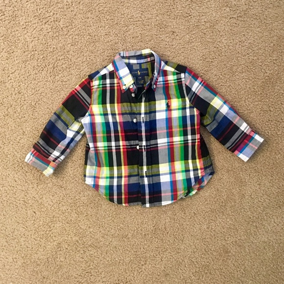 Ralph Lauren Other - Ralph Lauren Plaid Button Down shirt.